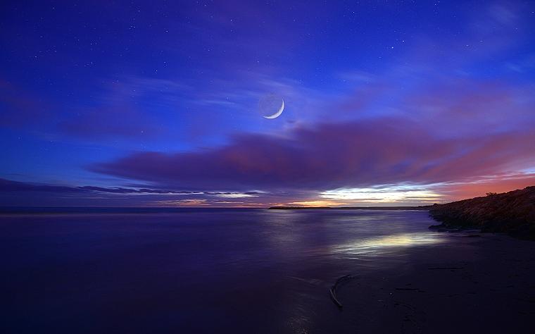 R ve veill la mer sous le ciel toil saintes maries de la mer camargue bouches du rh ne - Image ciel etoile ...